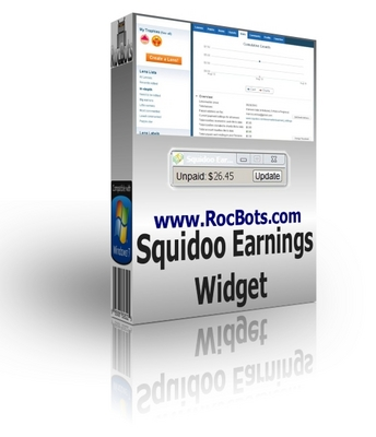 Product picture Squidoo Earnings Widget - Auto Check your Reserver Hopper